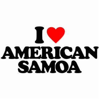 I LOVE AMERICAN SAMOA PHOTO CUT OUTS