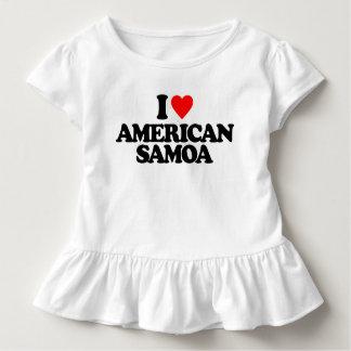 I LOVE AMERICAN SAMOA TODDLER T-SHIRT