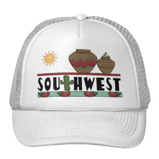 I Love American Southwest Pottery Trucker Hat