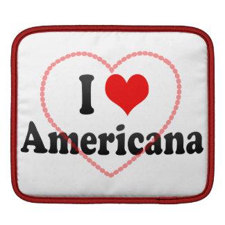 I Love Americana, Brazil Sleeves For iPads