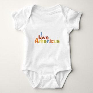 I love Americus MultiColor T-shirts
