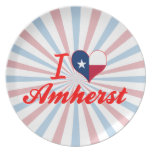 I Love Amherst, Texas Plates