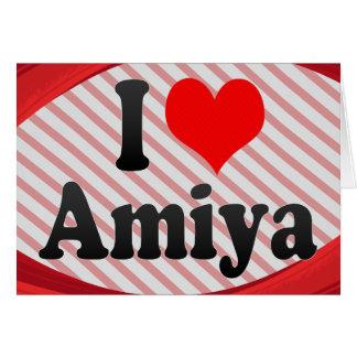 I love Amiya Card