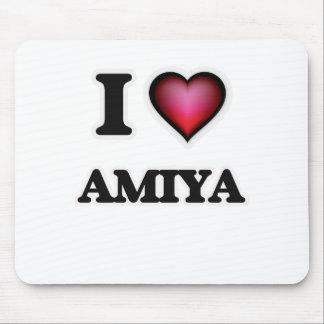 I Love Amiya Mouse Pad