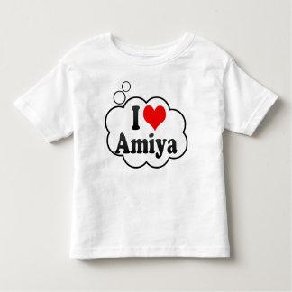 I love Amiya Toddler T-shirt