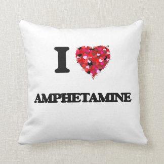 I Love Amphetamine Throw Pillow