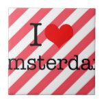 I LOVE AMSTERDAM CERAMIC TILES