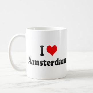 I Love Amsterdam, Netherlands Coffee Mug