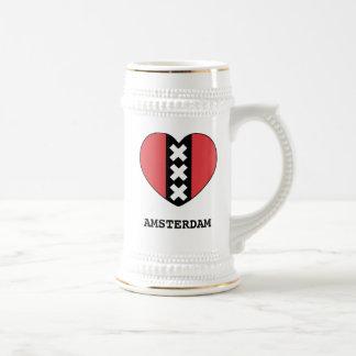 I LOVE AMSTERDAM pul by Amsterdamned Coffee Mug