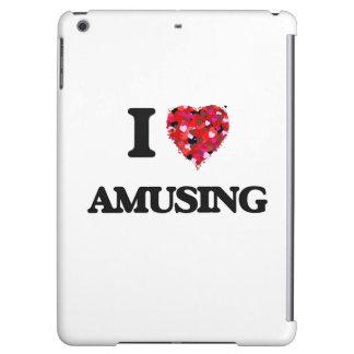 I Love Amusing iPad Air Covers