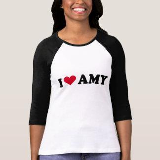 I LOVE AMY T-SHIRTS