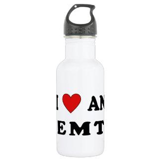 I Love An EMT 18oz Water Bottle