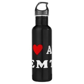 I Love An EMT 24oz Water Bottle