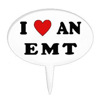 I Love An EMT Cake Topper