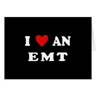 I Love An EMT Cards