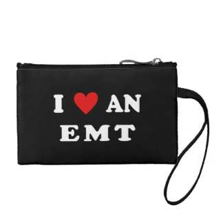 I Love An EMT Coin Wallet