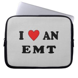 I Love An EMT Computer Sleeve