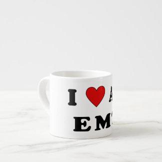 I Love An EMT Espresso Mugs