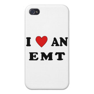 I Love An EMT iPhone 4/4S Cases