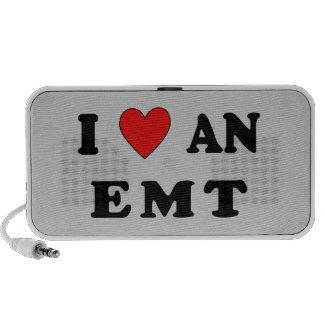 I Love An EMT iPod Speakers