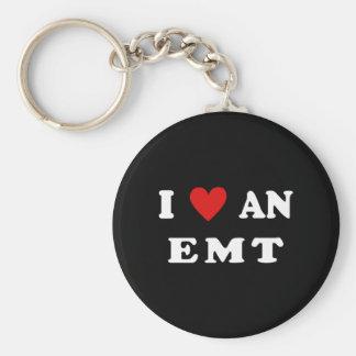 I Love An EMT Keychains