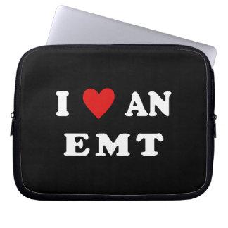 I Love An EMT Laptop Computer Sleeves