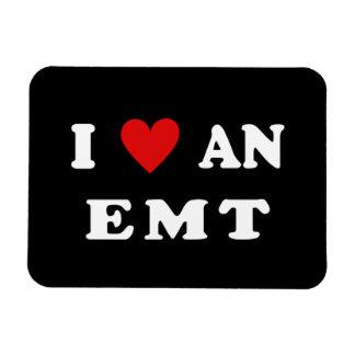 I Love An EMT Magnet