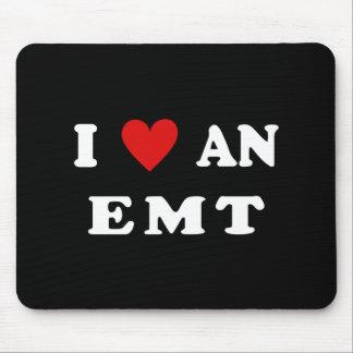 I Love An EMT Mouse Pad