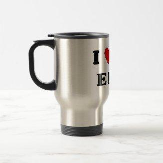 I Love An EMT mug