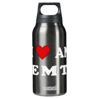 I Love An EMT 10 Oz Insulated SIGG Thermos Water Bottle