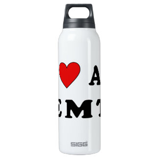 I Love An EMT 16 Oz Insulated SIGG Thermos Water Bottle
