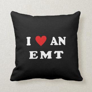 I Love An EMT Throw Pillow