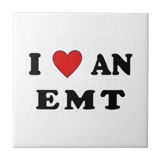 I Love An EMT Tile