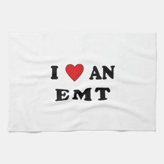 I Love An EMT Towels