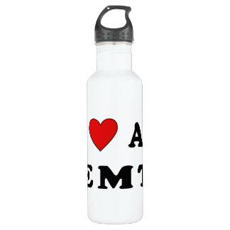 I Love An EMT Water Bottle