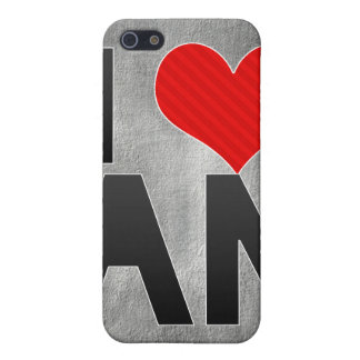 I Love AN iPhone 5 Covers