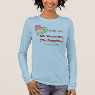 I love an RA Warrior (YOUR TEXT) Long Sleeve T-Shirt