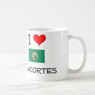 I Love Anacortes Washington Coffee Mugs