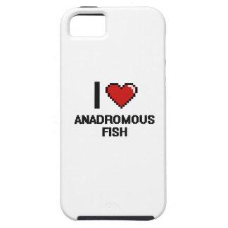 I love Anadromous Fish Digital Design iPhone 5 Case