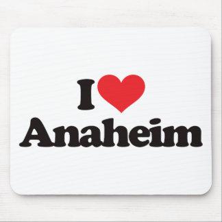 I Love Anaheim Mouse Pad