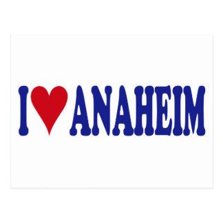 I Love Anaheim Postcards