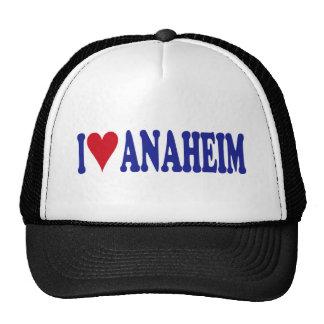 I Love Anaheim Trucker Hats