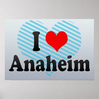 I Love Anaheim, United States Poster