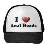 I Love Anal Beads Hat