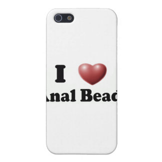 I Love Anal Beads iPhone SE/5/5s Case