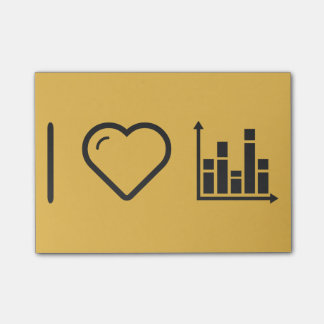 I Love Analyzing Graphs Post-it Notes