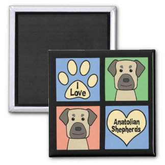 I Love Anatolian Shepherds Magnet