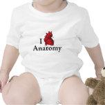 I love anatomy baby bodysuits