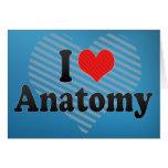 I Love Anatomy Cards