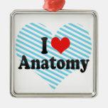 I Love Anatomy Christmas Ornaments